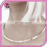 Fashion Latest Design Open Cuff Choker Necklace Jewelry Wholesale