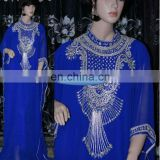 kaftan caftan dress Dubai Wholesale African Kaftan Golden & Silver work Kaftan Abaya Faras... K13