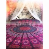 Indian Mandala Pink Lavender Duvet Cover Ethnic Quilt Covers Hand Screen Printed Doona Cover Blanket With Pillow Cover