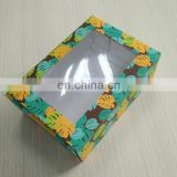 4c Printed Coffee Mug Box with window
