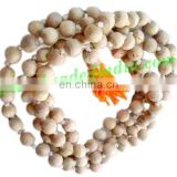 Real tulsi sacred-auspicious wood beads mala-string of 54 beads, size: 8mm