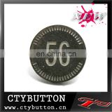 digital logo alloy hover bottonfor china supplier