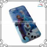 high quality frozen 3D printing phone case for phone 6