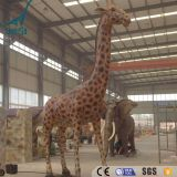 LORISO 6005 Life size animatronic animal giraffe for sale