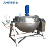 100 Gallon ice cream Electrical Jacket Cook Mixing Kettle Cooking Processing Planetary Mixer Cooking Machine Stirring