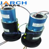4 circuits 2a 1/8 gas passage hybrid rotary joint Pneumatic Slip Ring