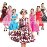 Bestdress cheap pin up 6 style Vintage Retro Swing 50s 60s Housewife Prom party in stock plus size rockabilly dress boutique