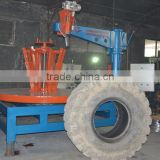 shreding equipment for scrap tire/recycle equipment for rubber blockings making/recycle equipment for OTR tire
