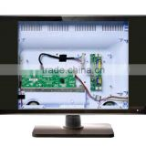 Small size 17 19 22 inch LCD TV, front glass , Guangzhou factory SKD KIT,cheap price ,own mould