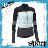 Wholesale dry fit long sleeve cycling lycra suit cycling clothing cycling wear for women