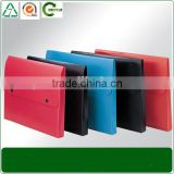 new design button plastic document briefcase decorative office file folder cases                                                                         Quality Choice