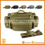 Tactical Military range waist bag,hiking military travel bag with shoulder strap,military camouflage hanging travel waist bag
