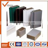 Factory direct supply aluminum profiles, bullet proof curtain wall system