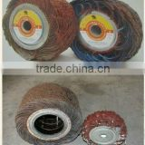 Foshan alloy brushing abrasive flap wheel