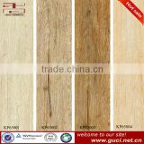 Wood effect ceramic wall tile