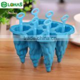 Cheapest 6 Caves silicone fancy Tree ice lolly mould