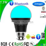 Smart Lighting 7.5w RGBW Bluetooth Led Bulb Smart Home Control System IOS/Android APP Wholesale Bluetooth Speakers
