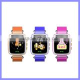 Colorful 1.44inch Screen Kids Phone Wrist Watch Mobile Phone GPS Child Locator Watch