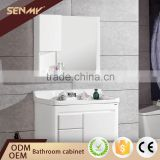 China Imports Mirror Solid Wood Cabinet Bathroom