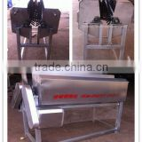 poultry neck feather peeling machine/chicken plucker machine/duck plucker machine/slaughtering equipment