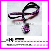CrafHand New Rhinstone Crystal Bling Lanyard With Key Chain and Lobster Clip for iphone
