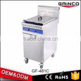 modern kitchen equipment all types of henny penny natural gas fryer gas chips deep fryer for sale GF-481C