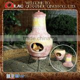 customized size bbq antique terracotta clay pizza oven