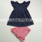 Pearl dress set for baby girls Independent day clothes 4th of july patriotic outfits kid ruffle clothes                                                                         Quality Choice                                                     Most Popular