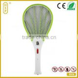Zhejiang mosquito racket manufactory beautiful designed electric mosquito racket with lED light