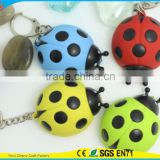 High Quality Promotional Cute Assorted Sound Activated LED Animal Keychain