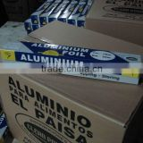 300mm * 30 meters food grade aluminium tin foil for household food wrapping and packaging