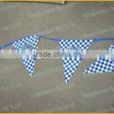 Bunting flags, string flags, custom polyester party flag