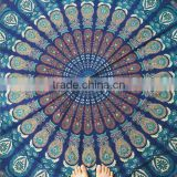 Hot Selling Indian Mandala Round Hippy Boho Cotton Beach Tapestry Tablecloth Blanket Throw Mat For Yoga Towel
