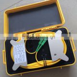 Fiber Optic OTDR Tester Launch Cable Box 1km 2km SM, MM, LC FC SC connector