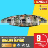 KINLIFE Plastic fishing canoe kayak for single person                                                                         Quality Choice                                                     Most Popular