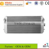 China new cheap brazed aluminium plate fin design water radiator