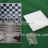 Magnetic Metal Chess Set for travel