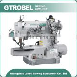 High Speed Bottom Hemming Cylinder-Bed Interlock Sewing Machine and Garment Sewing Machines Wholesaler
