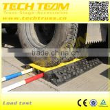 CCPU3US PU Weight 5.5Kg, load-bearing 40t Cable Cover, 3-Chanel Cable Trunking Cover.                                                                         Quality Choice