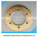 Motorcycle jawa sprockets with 8 teeth