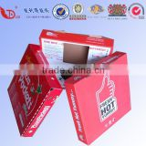 Hot sale custom colorful paper meal box paper pizza box