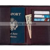 Good value card holder men travel ID card cover leather passport wallet                                                                         Quality Choice