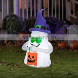 Inflatable Ghost with Candy Tote for Halloween Outdoor Decoration