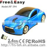 RF-394 shenzhen oem mouse 2.4g usb race car computer mouse