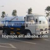 3000L vacuum sewage suction truck,vacuum sewer cleaner truck for sale