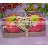 apple candle different fruit candle christmas fruit shape candle