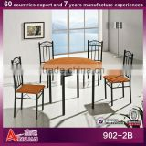 902-2B knock down Chinese antique purple color dining table