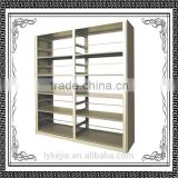 High Quality Library Metal Bookshelf/library bookshelf bookcase bookrack/School Steel Library Book Shelf