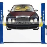 Two Post Double-cylinder Hydraulic Lift gantry car lift garage lift rubber door production
