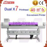 1.9 m aluminum frame industrial digital Micro Piezo-electric inkjet printer/Inkjet Printing machine